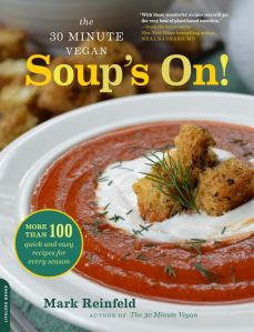 Cover of 30 Minute Vegan's Soup's On