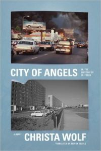 Book cover showing two photographs of Los Angeles