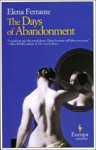 Book cover showing a nude woman looking at herself in a mirror